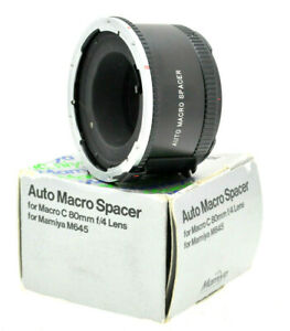 Mamiya-M645-macro-autom-DISTANZIALE-PER-Sekor-Lens-Macro-80mm-F4-Tubo-di-prolunga-1-1