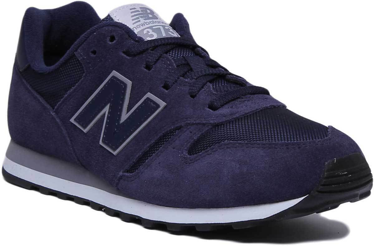 New Balance 373 Modern Classic Men Suede Mesh Navy Trainers UK Size 6 - 12
