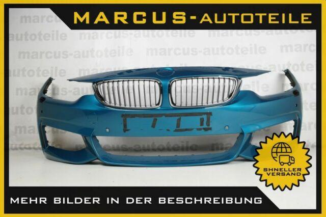 Stoßfänger vorne für BMW 4er F32 F33 F36 M-Paket 4x PDC Sideview mit SRA