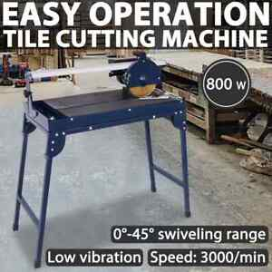 vidaXL Tile Cutting Machine 800W 200mm Cutter Floor Wall Tiles with Work Table