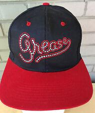 Grease VTG Movie Musical Travolta Snapback Baseball Cap Hat Olivia Newton John
