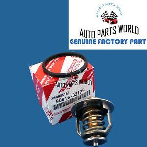 GENUINE TOYOTA LEXUS ENGINE COOLANT THERMOSTAT W GASKET 90916-03129 16325-62010