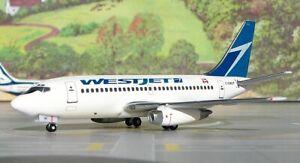 Aeroclassics-ACCGWJT-WestJet-Boeing-737-200-Old-Color-C-GWJT-Diecast-1-400-Model