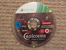 Castlevania Lords Of Shadow DISK 2 - Xbox 360 DISK 2 ONLY UK PAL