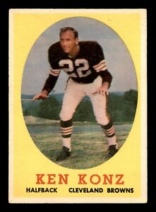 KEN-KONZ-1958-TOPPS-1958-NO-26-EX-22685