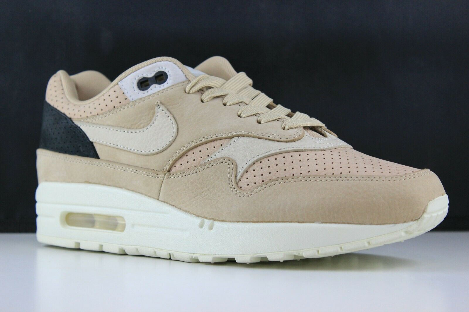c896753135 Nike Air Max 1 Pinnacle NikeLab Size 8 Mens Mens Mens Mushroom Oameal 859554-200  5cd572