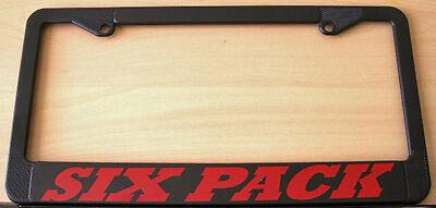 SIX PACK LICENSE PLATE FRAME 340 440 A12 ROAD RUNNER