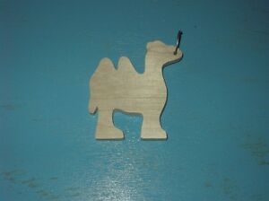 Wooden-Key-Ring-Camel