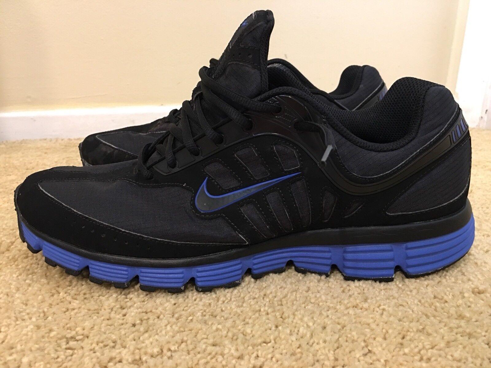 Nike Inspire Dual Fusion, 431997-004, Noir/Bleu, Homme Running Chaussures,