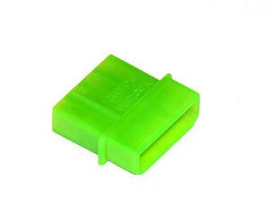 Netzteil/Lüfter 4-Pin Molex, Stecker, UV-aktiv grün