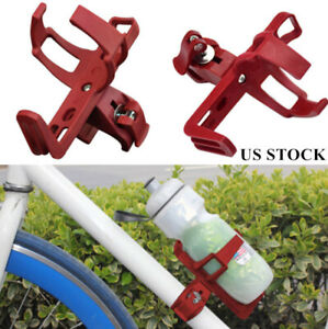 Bicycle Water Bottle Cage Drink Cup Holder Rack Mountain Bike Cycling Parts US