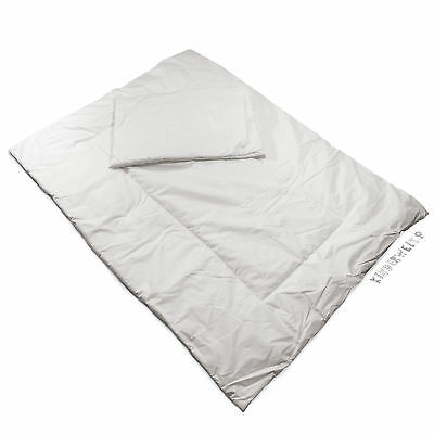 La ropa de cama bebé almohada 40 x 60 manta 120 x 90 steppbett repele la suciedad blanco