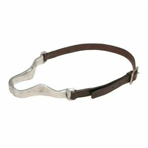 Tough-1-Aluminum-Hinged-Leather-Cribbing-Collar-Horse-Tack-Equine