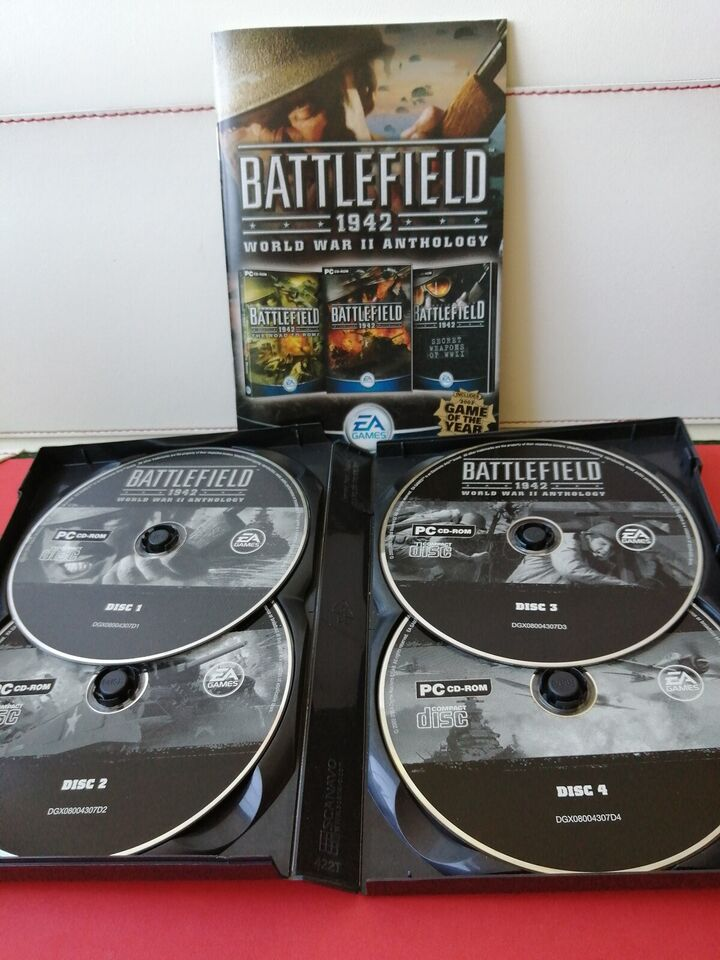 BATTLEFIELD 1942.WORLD WAR ll ANTHOLOGY., til pc,