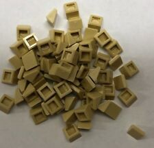 Lego 8 x Dachstein Bogenstein 15068 neu hellgrau 2x2