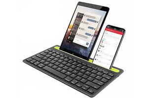Tastiera bluetooth per smartphone tablet supporto senza fili ricaricabile Q-812