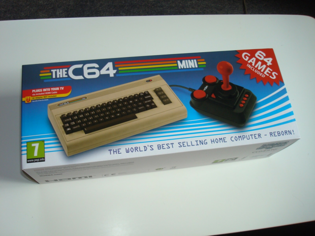 commodore 64 mini, spillekonsol, Perfekt, commodore 64 mini…