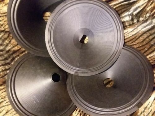 12 Cone *PAIR*All paper 1.5 12QCe-Cone Recone SEAMED  Eminence Fender Pyle CTS