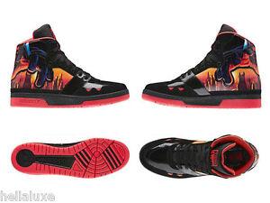 super popular e9c29 d98a0 ... Nuevo-Adidas-STAR-WARS-CORUSCANT-SKYLINE-MID-Zapato-