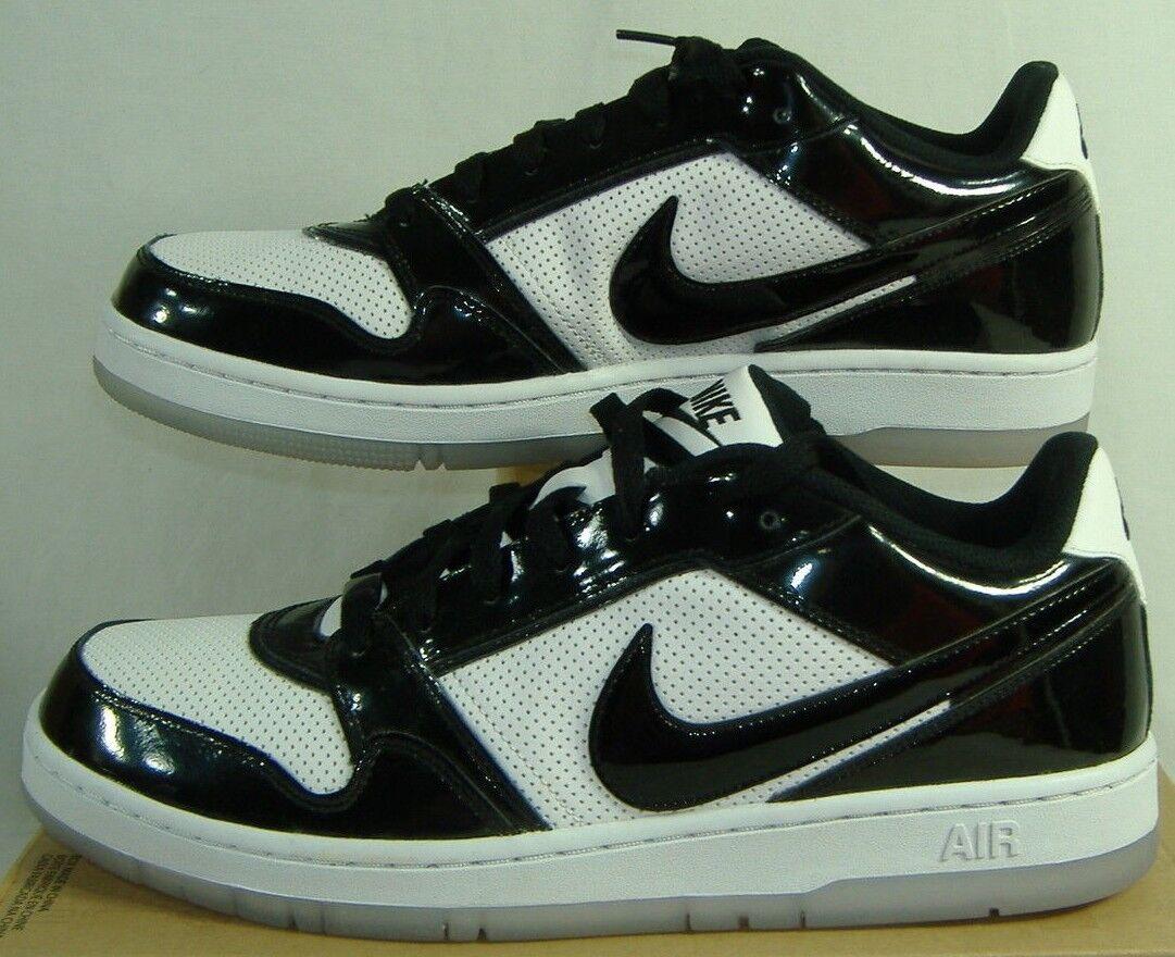 Noir  12 nike air prestige 3 tr premium Noir   blanc 451685-001 chaussures en cuir 80 158fde