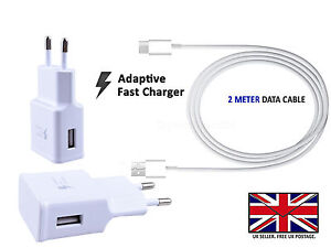 Details about OPPO A83 - Wall Adaptive Fast EU 2 Pin Charger Head Plug and  Cable