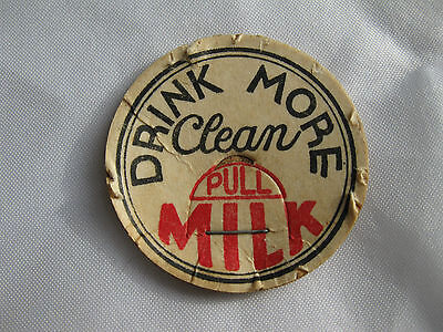 Browerville Minn Chocolate Milk Bottle Cap Farmer/'s Cooperative Creamery Assn