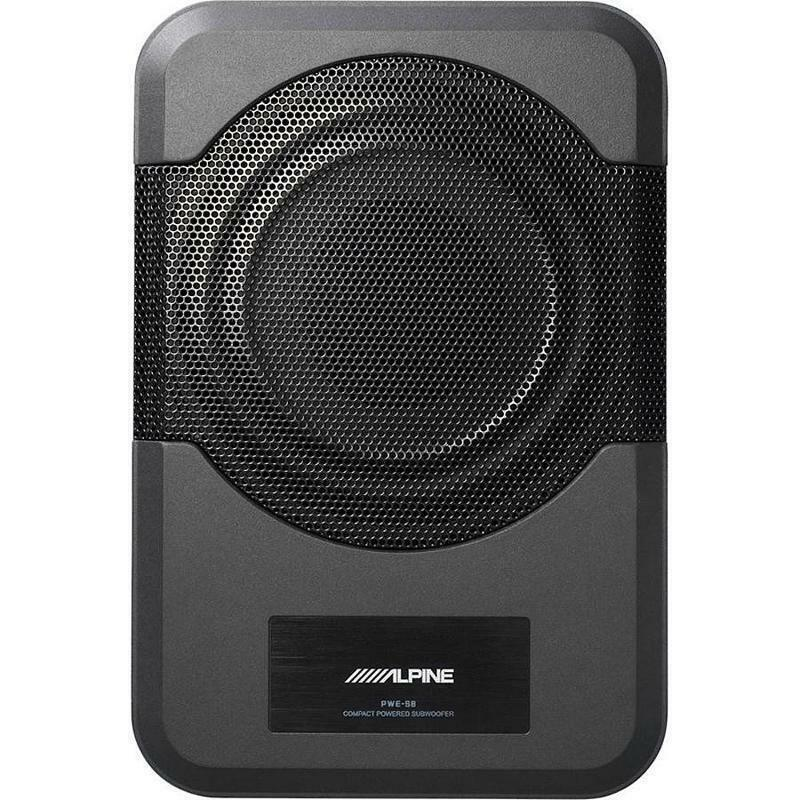 Alpine PWE-S8 Powered Subwoofer Jeep Jk JKU 2011+ and most a