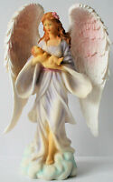 Large Angel With Baby Figurine Spiritual Religious Inspirational 13
