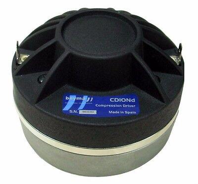 """Beyma CD10Fe//N 1/"""" Compression Driver 70//140W  8Ohm 1.75/"""" Coil 700-19000HZ"""