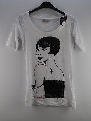 Damen Damenshirt Shirt T-Shirt NEU IO Valentina weiß Größe 34 XS 36 S