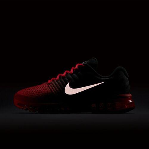 10 running 5 para Red Zapatillas Crimson Nike Air 2017 Black Max hombre Total de Bright Bred Qs BqRxn4