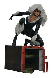 Statuette Black Cat Marvel Bande Dessinée Diamond Select Toys 23 Cm