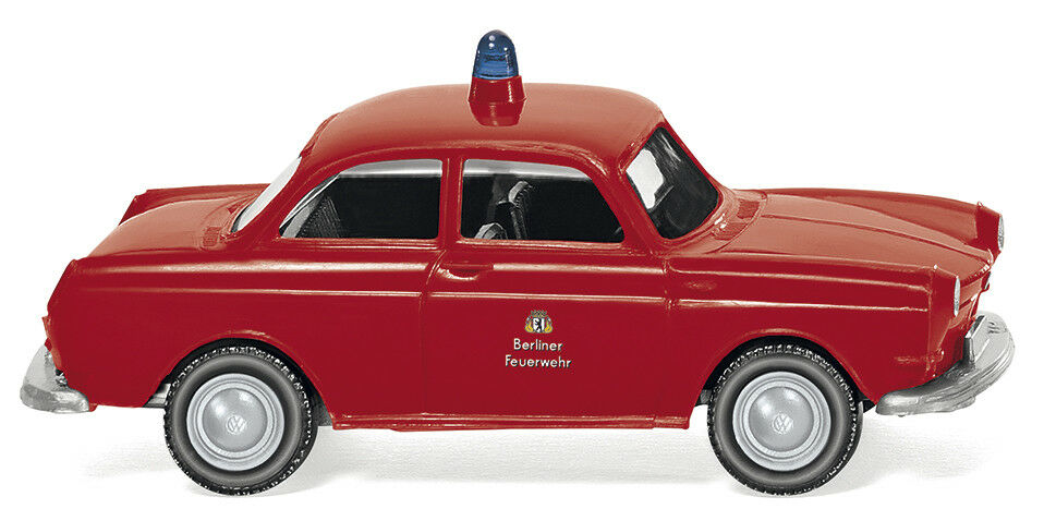 Wiking 086145 VW 1600 Limousine Berliner Feuerwehr HO 1 87 NEU
