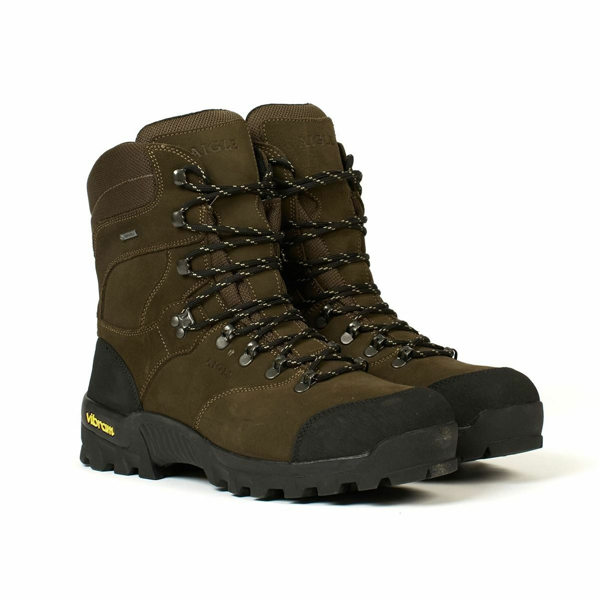 Aigle Altavio Alta Gore-Tex Nubuck Nubuck Nubuck Cuero Impermeable Bota De Caminar (Caza) 562505