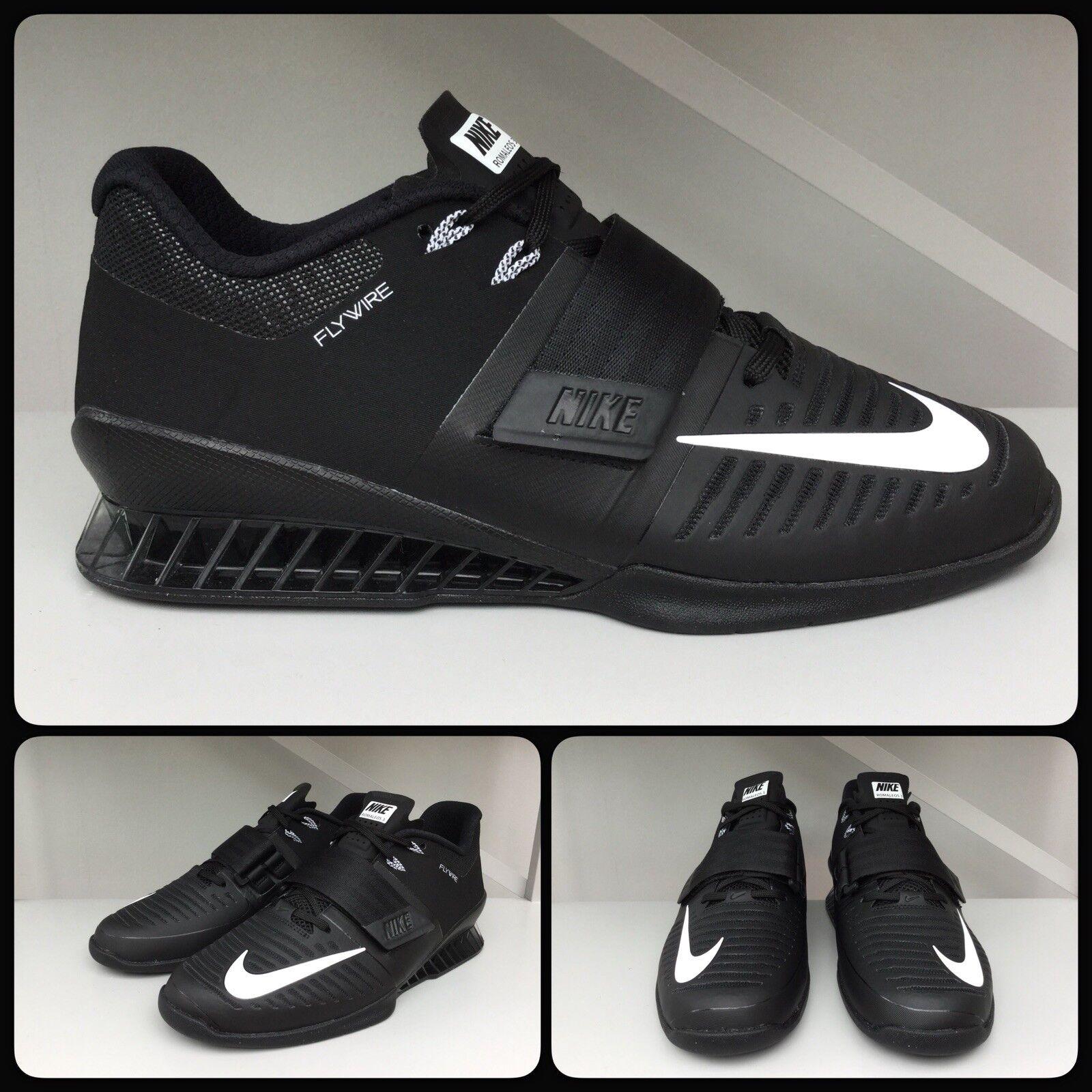 Nike Romaleos 3 weightlifting shoe, men Sz UK 7, EU 41, US 8, 852933-002