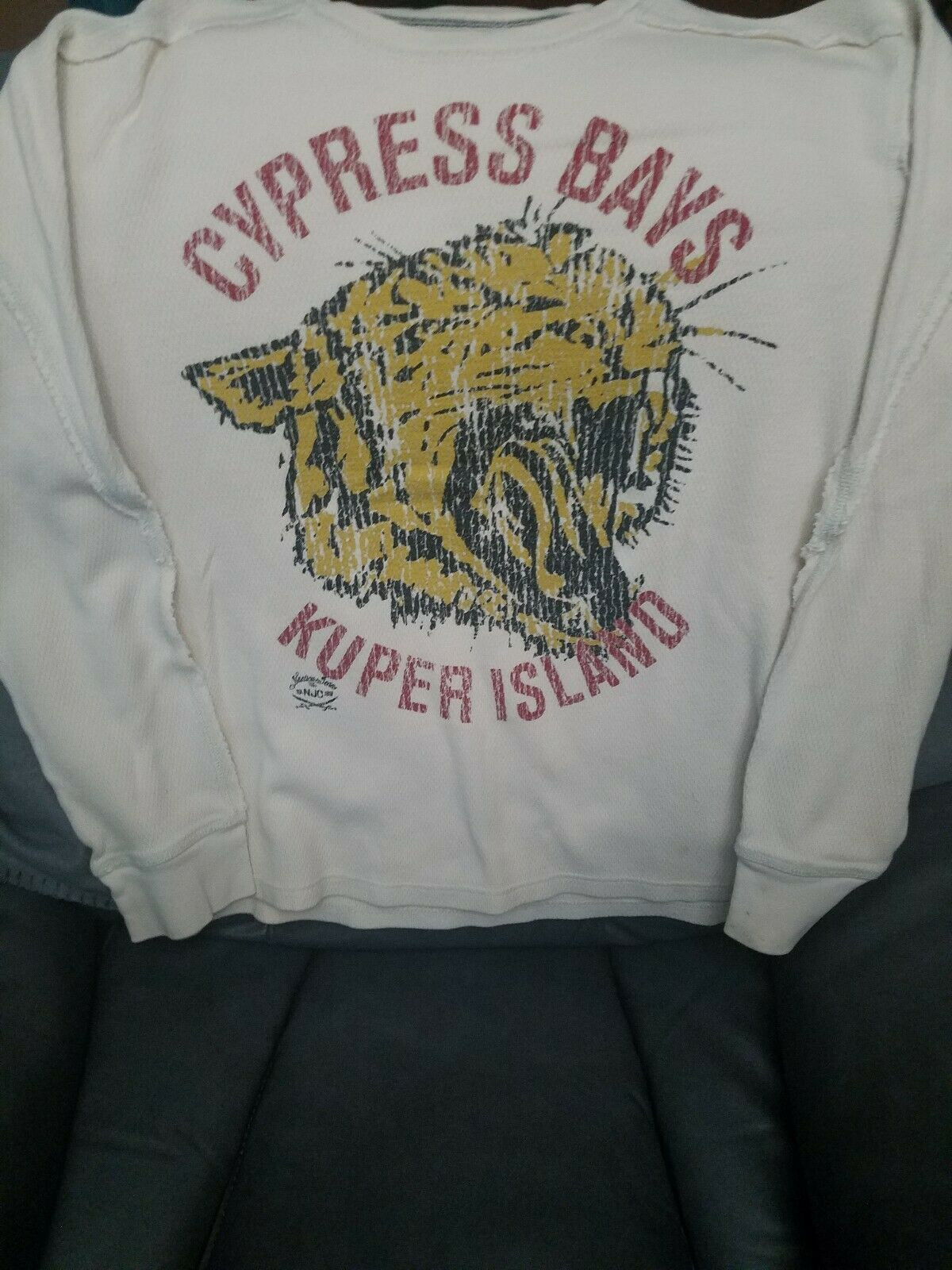 Vintage Nautica Tiger Graphic Sweater Xl