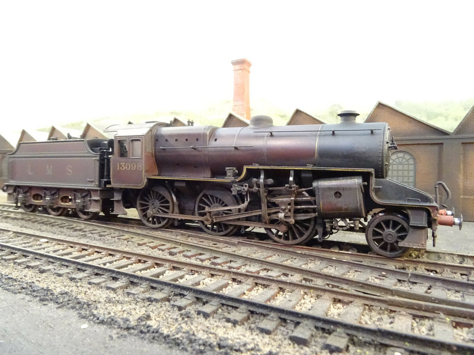 BACHMANN LMS CRAB 13098 (DETAILED LINESIDE WEATHERED) 32-175