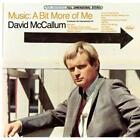 Music-A Bit More Of Me von David McCallum (2013)