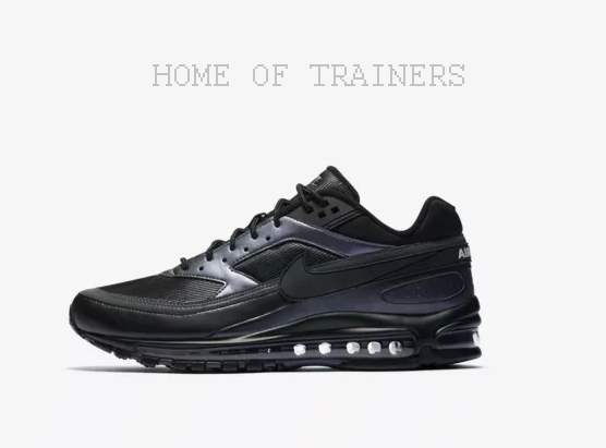 Nike Air Max 97 BW Black Metallic Hematite Black Men's Trainers All Sizes