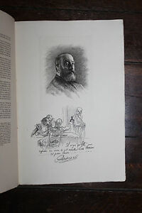 1900-Mariani-Uzanne-Biographie-Albert-Besnard-eau-forte-Dautrey-autographe