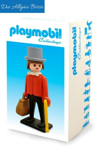 Playmobil Collectoys Gentleman 21cm Plastoys Resine City Life NEU OVP