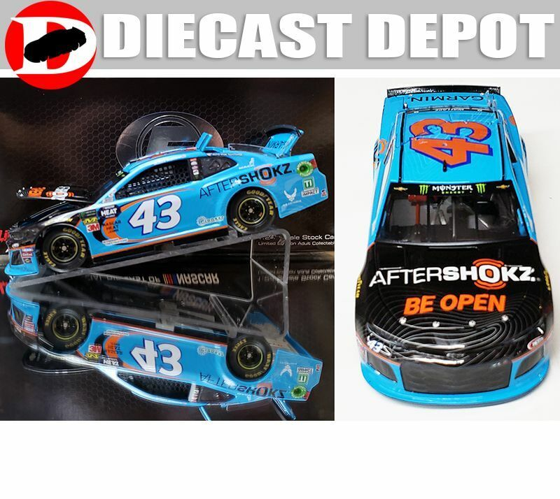 BUBBA WALLACE 2019 AFTERSHOKZ  43 CAMARO 1 24 SCALE RCCA  ELITE SERIES DIECAST