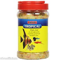 Tropical Flake Fish Food - 100gm - Taiyo - Nean Tetra Angel Bharb Guppys Mally