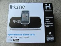 Brand Ihome Ia5 App-enhanced Alarm Clock Speaker System