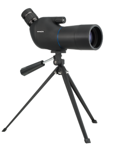 Minox Blu binocular 15-45x50 incl mesa trípode y bolsa