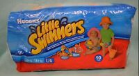 Huggies Little Swimmers 10 Ct Sz Large 32+ Lbs 2008 Nemo Tigger Swimpants