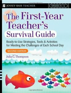 The-First-Year-Teacher-039-s-Survival-Guide-Read-by-Thompson-Julia-G-Paperback