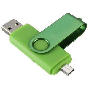 1X(Micro USB Stick Speicherstick 4GB USB 2.0 Flash Drive Memorystick OTG fue N6C