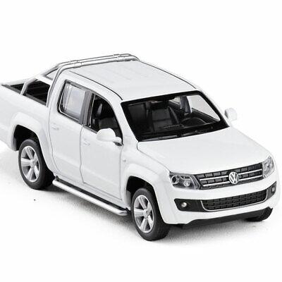 Amarok Pickup LKW 1:30 Metall Die Cast Modellauto Auto Model Spielzeug Weiß