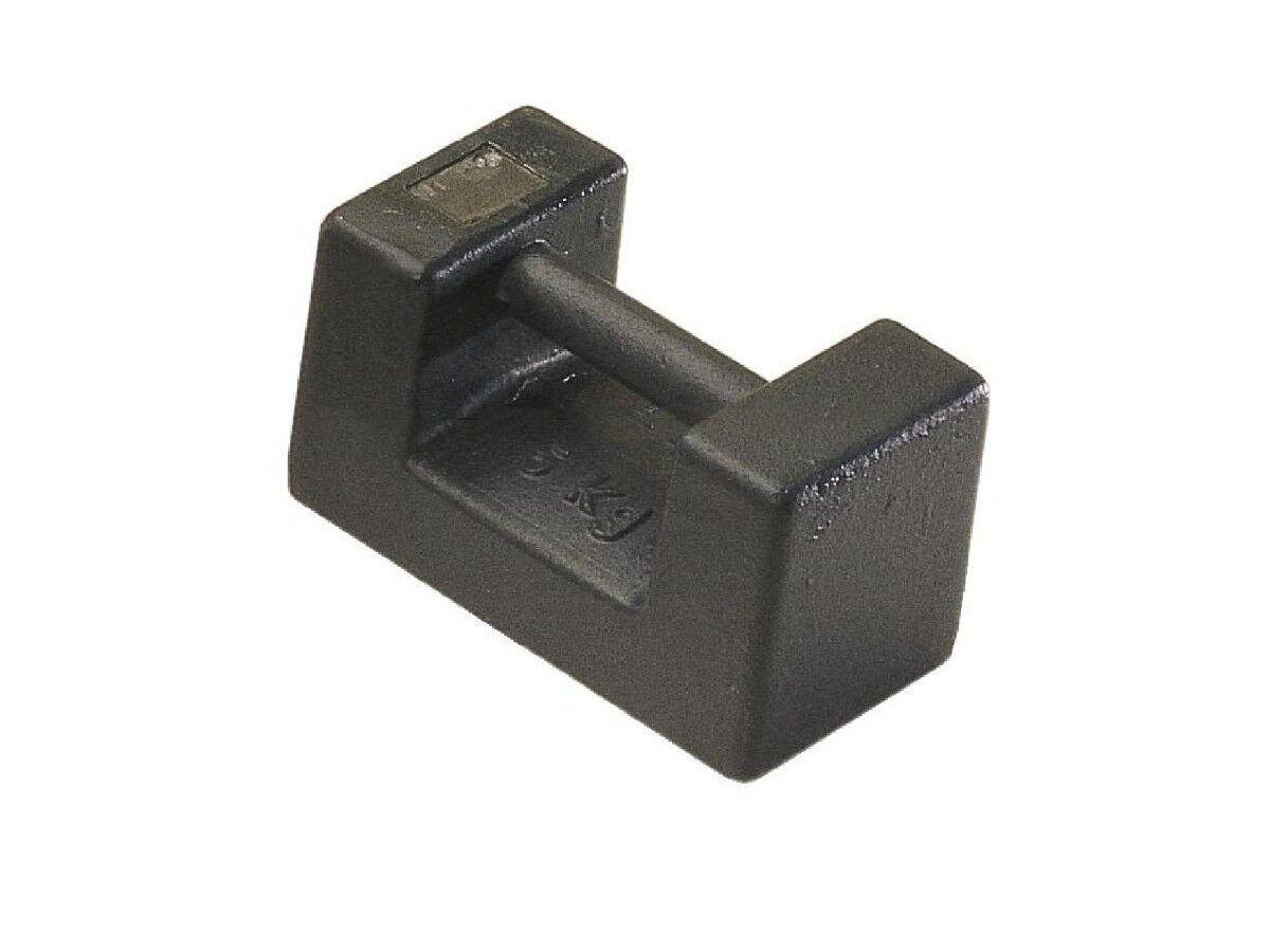 Peso di Prova Peso Fgkl. M1 Peso Blocco 10 kg Ghisa Kern 346-87 Calibrato